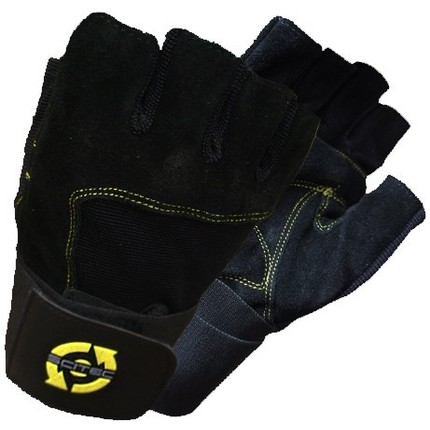 Pánska kolekcia - Rukavice na cvičenie - Scitec Yellow Style