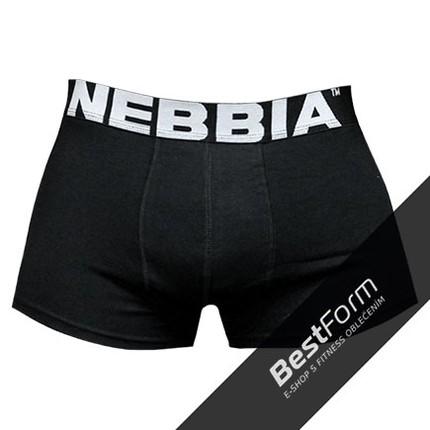 Pánská kolekcia - NEBBIA AW Boxerky 101 - Čierna