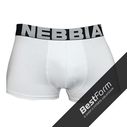 Pánská kolekcia - Pánske boxerky NEBBIA 101 (biela)