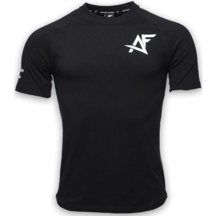 Pánská kolekcia - AESTHETIC FITNESS - Tričko SLIM-FIT (čierna)