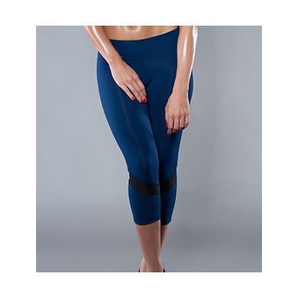 Dámská kolekcia - NDN – 3/4 Fitness nohavice HERTA (tmavomodrá)