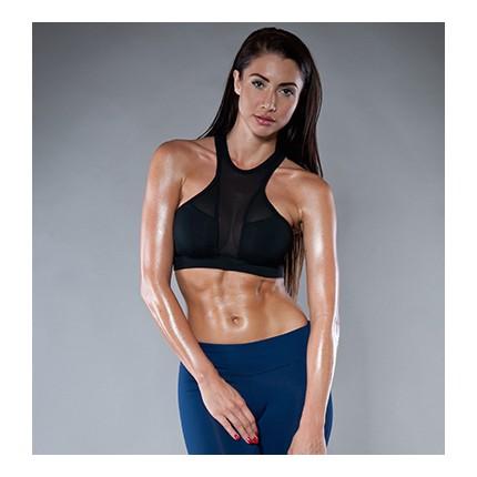 Dámska kolekcia - NDN – Výpredaj dámsky fitness top ZOE (čierna)