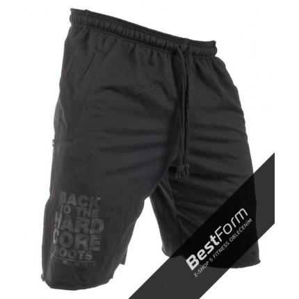 Pánská kolekcia - NEBBIA - HardCore šortky 344 (čierna)