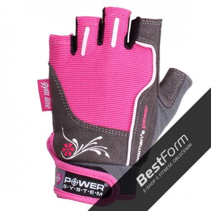 Dámská kolekcia - Power System - Dámske rukavice na cvičenie (PS-2570)