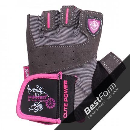 Dámská kolekcia - Power System - Fitness rukavice dámske (PS-2560)