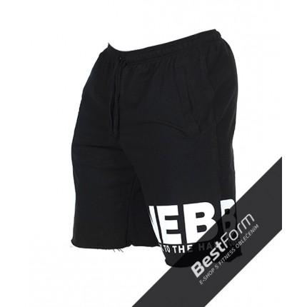 Pánská kolekcia - NEBBIA - HardCore šortky 343 (čierna)