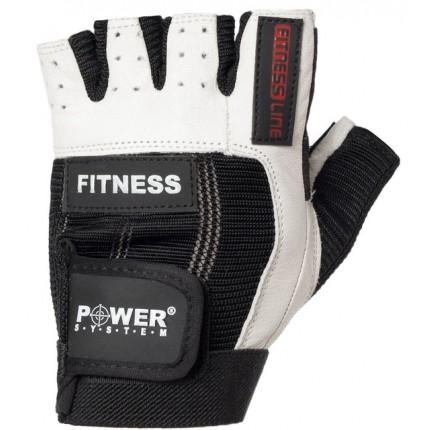Pánska kolekcia - Power System - Fitness rukavice PS 2300 (čierno-biela)