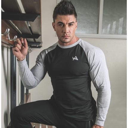 Pánská kolekcia - Aesthetix Era - Športové tričko s dlhým rukávom (02.007)