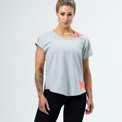 Dámska kolekcia - Aesthetix Era - Dámske tričko na cvičenie (sivá) (51.001)