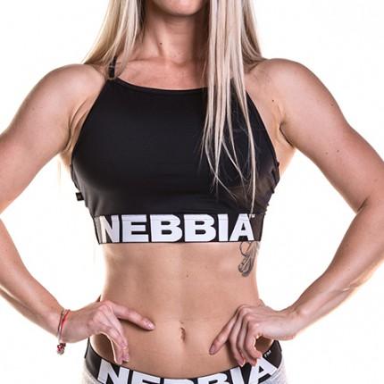 Dámská kolekcia - NEBBIA - Mini Top 285 (čierna)
