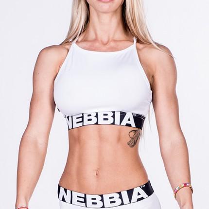 Dámská kolekcia - NEBBIA - Mini top 285 (biela)