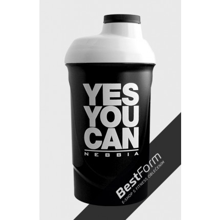 Pánská kolekcia - NEBBIA - Shaker YES YOU CAN (600 ml)