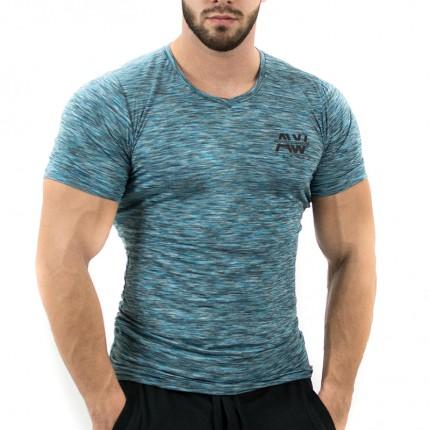 Pánská kolekcia - NEBBIA - Fitness tričko pánske 126 (modrá)