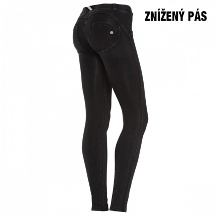 Dámska kolekcia - FREDDY - Push Up Jeans DENIM (čierna) (1LJ01E-J7N)