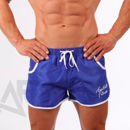 Pánska kolekcia - Aesthetic Fitness - Pánské plavky RETRO (modro-biela)