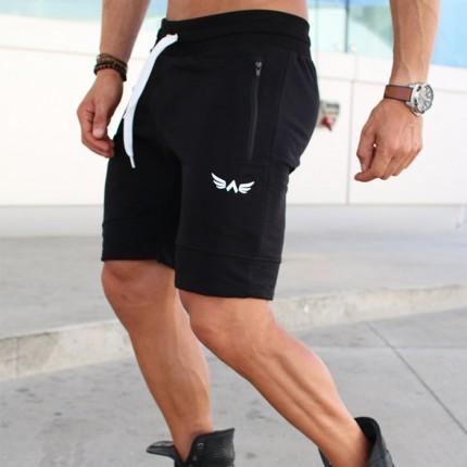 Pánska kolekcia - Exalted - Fitness šortky X1 (čierna)