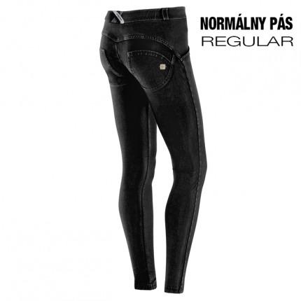 Dámska kolekcia - FREDDY - Push Up Jeans DENIM REGULAR (čierna) (1RJ01E-J7N)