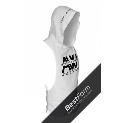 NEBBIA Výpredaj - NEBBIA - Výpredaj Tielko s kapucňou 124 (biela)