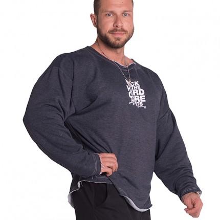 Pánská kolekcia - NEBBIA - Oversized tričko pánske 342 (modrá)