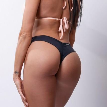 Dámska kolekcia - NEBBIA – Bikini brazilky spodný diel 632 (čierna)