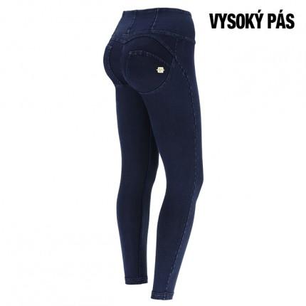 Dámska kolekcia - FREDDY - Jeans s modrým šitím na modrý zips (1HC002-J0B)