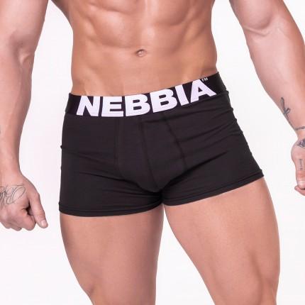 Pánska kolekcia - NEBBIA - Boxerky AW Line 701 (čierna)