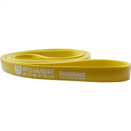 Dámska kolekcia - Power System - Guma na cvičenie Level 1 (žltá)