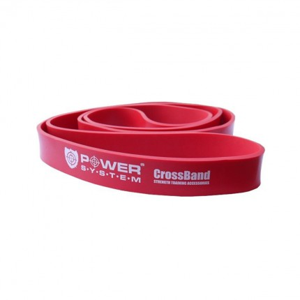 Dámska kolekcia - Power System - Guma na cvičenie Level 3 (červená)