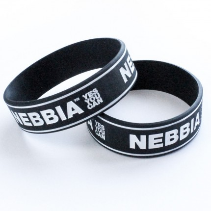 Pánska kolekcia - NEBBIA - Pánsky náramok YES YOU CAN (čierna)