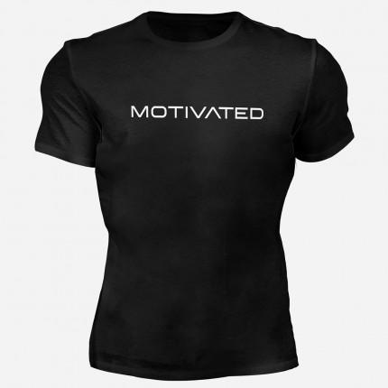 Pánske fitness oblečenie - MOTIVATED - Pánske tričko na cvičenie 310