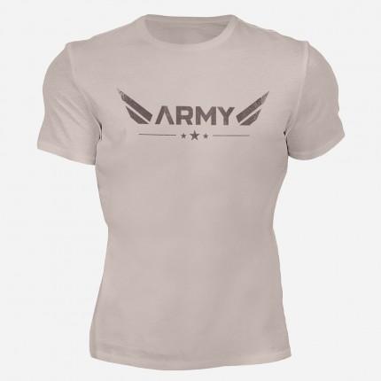 Pánske fitness oblečenie - MOTIVATED - Army tričko 316