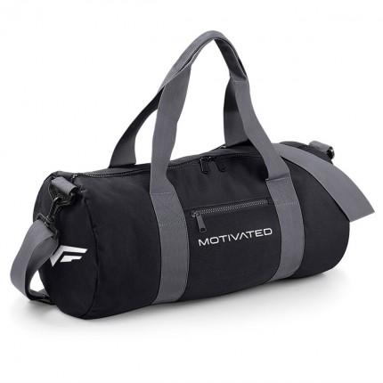 Pánska kolekcia - MOTIVATED - Športová taška (čierno-sivá) 320