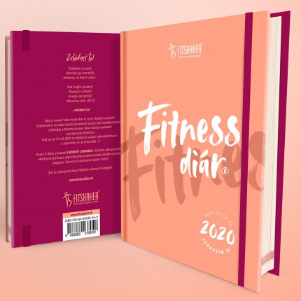 Dámska kolekcia - FITSHAKER - Fitness diár 2020 (Slovenský jazyk)