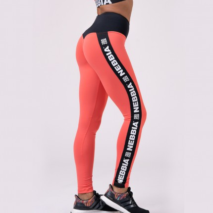 Dámska kolekcia - NEBBIA - Fitness legíny POWER YOUR HERO 531 (peach)