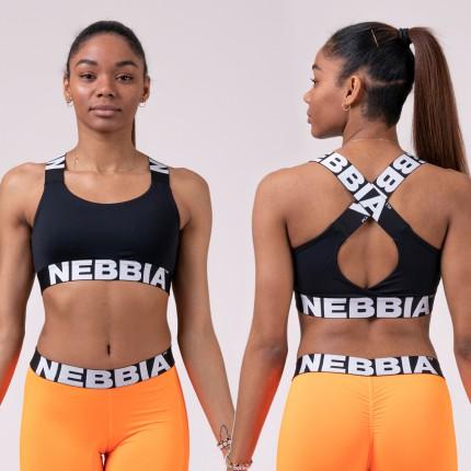 Dámska kolekcia - NEBBIA - Športová podprsenka POWER YOUR HERO 535 (black)