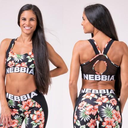 Dámska kolekcia - NEBBIA - Športová podprsenka Aloha Babe 551