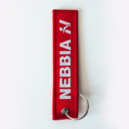 Pánska kolekcia - NEBBIA - Kľúčenka Red LABEL (červená)
