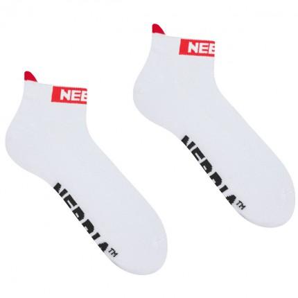 Dámska kolekcia - NEBBIA - Ponožky členkové unisex 102 (white)