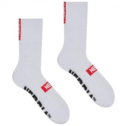 Dámska kolekcia - NEBBIA - Ponožky klasické unisex 103 (white)