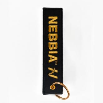 NEBBIA - Kľúčenka GOLD (black)
