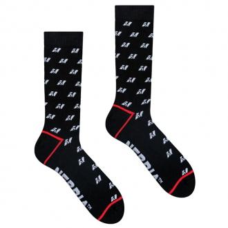 NEBBIA - Športové ponožky unisex 104 (black)