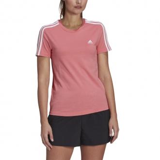 ADIDAS - Dámske tričko Slim 3-STRIPES (hazy rose) GL0787