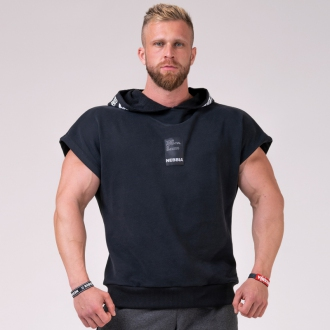 NEBBIA - Reg top s kapucňou NO LIMITS 175 (black)