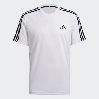 ADIDAS - Tričko pánske 3 Stripes (biela) GM2156