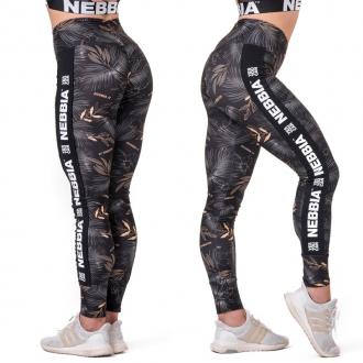 NEBBIA - Legíny high-waist PERFORMANCE 567 (volcanic black)