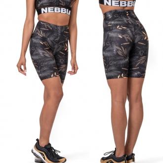 NEBBIA - Biker šortky ACTIVE 569 (volcanic black)