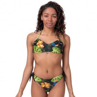 NEBBIA - Bikini EARTH POWERED vrchný diel 556 (jungle green)