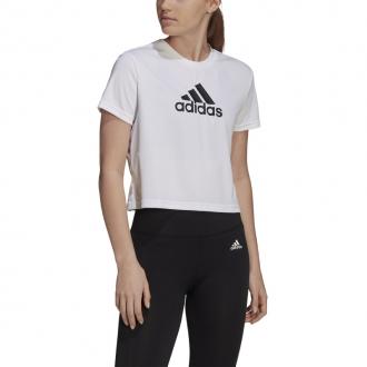 ADIDAS - Crop tričko Big Logo dámske (biela) GM7196