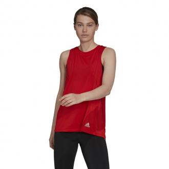 ADIDAS - Bežecké tielko dámske (červená) H53027