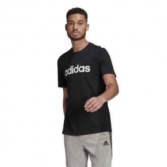 ADIDAS - Tričko pánske Linear logo (čierna) GL0057